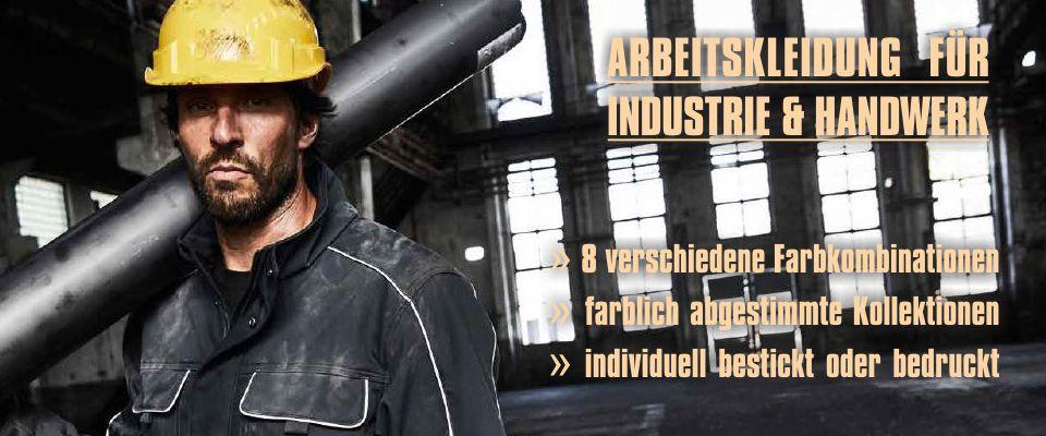 Arbeitskleidung Industrie & Handwerk